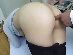 asian doctor and asian ass