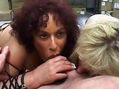 Gina DePalma and Friend Sucking Dick