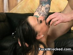 Big Titty New York Dime Piece Gets Face Fucked Dirty