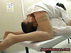 Nurse natsumi kitahara gets her pussy part2