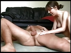 Horny wife on real homemade
