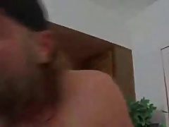 blonde and brunette fight for his cock