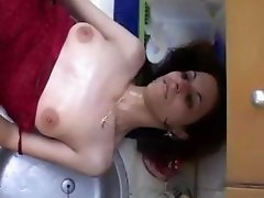 Arabian Muslimah in Red Dress gets her tight West Asian Beurette Pussy stretched by a Sudanese Big Black Dick.