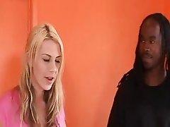 Aubreys Hubby Eats Black Man Cum From Her Pussy
